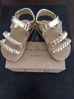 Bnib Kenneth Cole sandals for baby girl