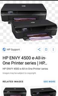 HP ENVY 4500 Printer Scanner Copier Wifi