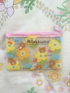 送: Rilakkuma 小筆袋/拉鏈袋