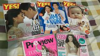 Showbiz magazines (rare)