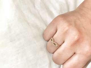 INFINITY RING SAUDI GOLD