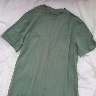 Sage Green Tee Shirt Dress