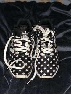 Adidas Originals ZX flux womens polka dot