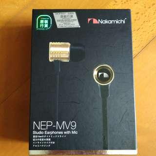Nakamichi NEP-MV9 入耳式耳機