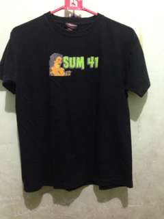 Baju Tshirt Sum 41 World Tour 2003