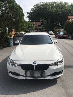 316i F30 BMW 2015 direct owner Full service