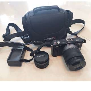 Full Set Panasonic Lumix GF2