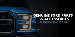 Genuine Ford and Mazda parts and accessories