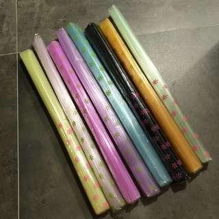 Plastic Straws for Star Folding