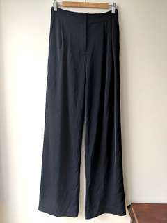 Staple the Label sz 10 high waisted navy pants