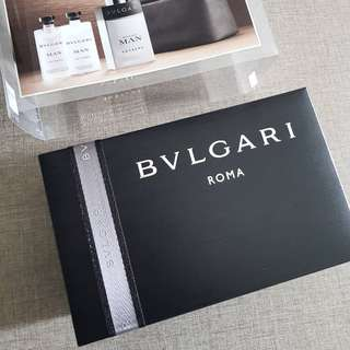 Men Shower Set by Bvlgari Black