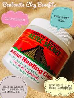Aztec Healing Clay Mask!
