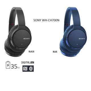 SONY WH-CH700N Wireless Noise-Canceling Headphones