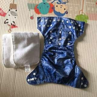 BN Luvable Friends Reusable Diapers Set