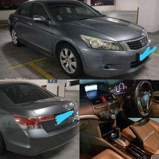 Honda accord  2.4 i vtec 2008 RM8,900 CASH