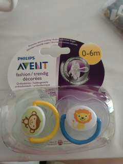 Avent Pacifiers