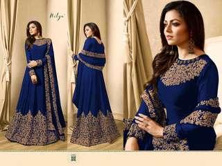 Eid Sale: Designer Nitya Anarkali Gown -1701