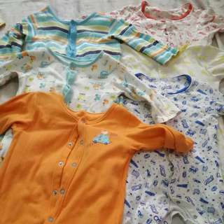 Take All Mothercare Sleepsuits For 6-9 Months