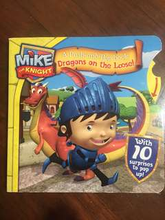 Mike the Knight Push & Pop book