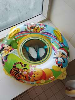 Baby spa swim float with safety net Mickey mouse