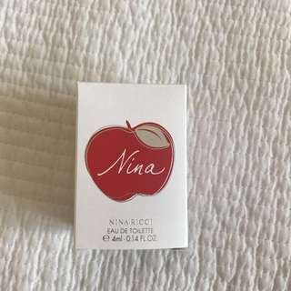 [BNIB] [Free With Other Purchase] Nina By Nina Ricci EDT 4ml Mini #Blessing