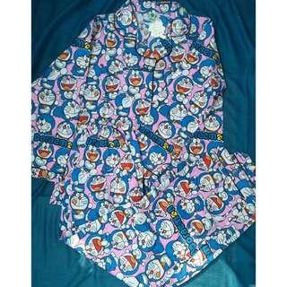 Baju Tidur Piyama Doraemon