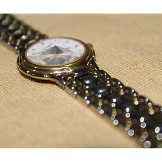 Preloved Autentic Laurent watch with safier