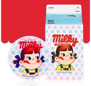 READY STOCKS | Holika Holika x Peko-Chan Milky Candy Hard Cover Perfect Cushion 21 Warm Ivory