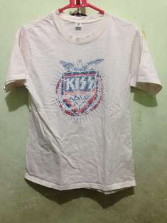 Baju Tshirt Band Kiss Army