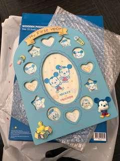 Mickey & Friends 初生BB 相架