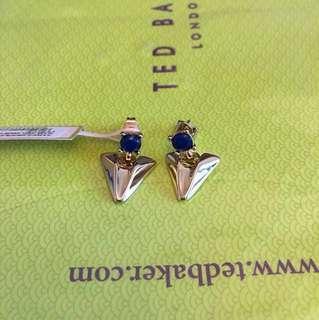 英國倫敦Ted Baker 吊耳環 London Arrow Earrings (正版有tag)