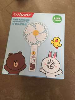 Line Friends 充電手提風扇