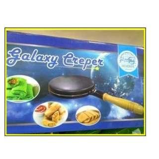Cetakan Kue Crepe Maker Loyang Wajan Datar Anti Lengket