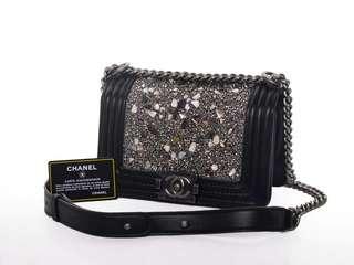 Chanel Boy Glitters