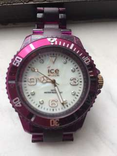 Swarovski crystal Ice Watch (LIMITED EDITION)