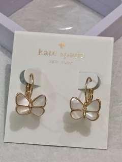 Kate Spade Earrings (貝殼蝴蝶)
