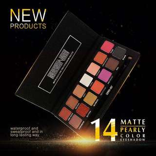 🦋14 Colors Matte Glitter Metallic Makeup Eyeshadow Palette🦋