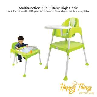 Multifunction 2in1 Baby High Chair