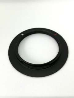 M42 mount to Nikon mount adapter