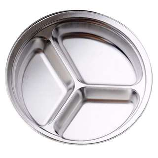 20 pcs. 316L Stainless Steel Divided Dinner Plate