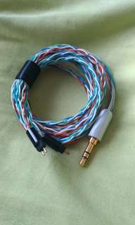 DIY budget IEM cable (Rainbow) [Built to order]