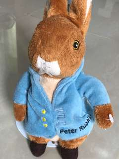 Peter Rabbit Plush Doll Toy