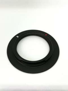 m39 mount to Nikon mount adapter