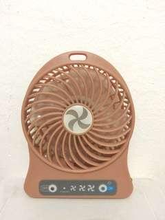 Portable Mini Fan (Pink Mauve)