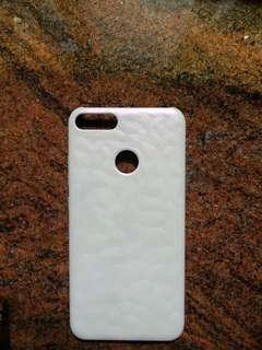 小米A1官方手機硬殼白色花紋