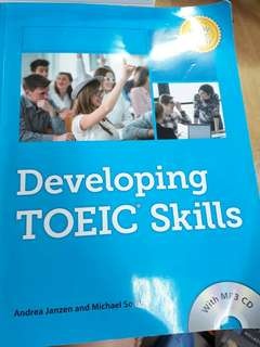🚚 近全新Developing TOEIC Skills with MP3 A.JANZEN
