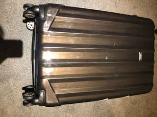 Cabin bag and hardshell suitcase check in luggage big 75cm