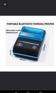 [NEW] Mobile Bluetooth Thermal Printer