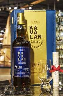 (現貨) KAVALAN VINHO 噶瑪蘭經典獨奏原酒系列 葡萄酒桶威士忌 單杯禮盒 (700ml 57.1%)
