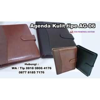 Souvenir Agenda Kulit tipe AG-06